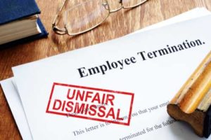 An employment termination contract.