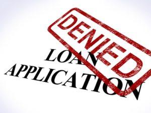 denied loan