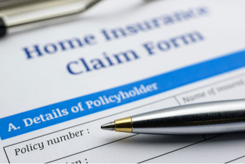 Water damage-insurance-claim